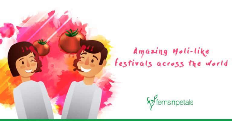 Holi like festivals in world