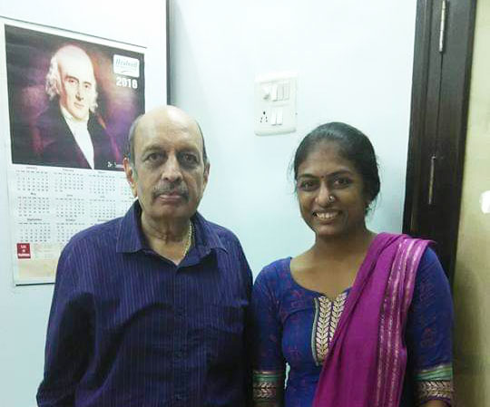 My teacher Sir Dr. Kishor Mehta